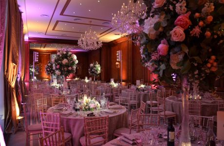 Romantic Blush at Hedsor House