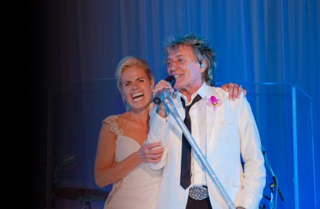 An evening with Rod Stewart